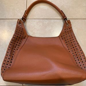 Brown Tote Bag with Travel Bag